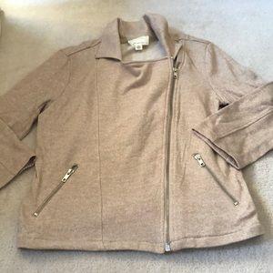 Sweater jacket!